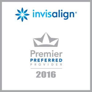 Invisalign Premier Preferred provider logo 2016