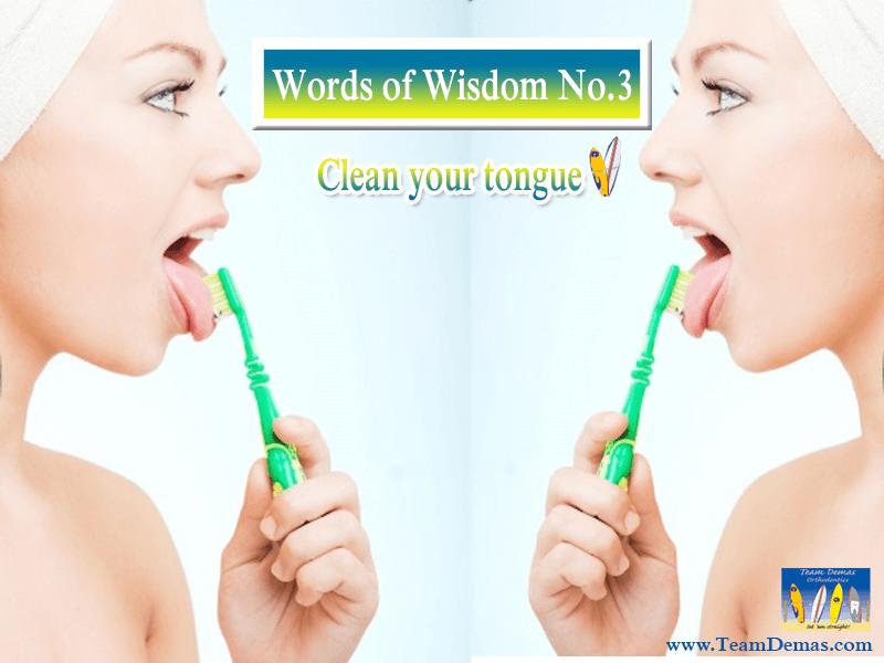 Team Demas, Clean your Tongue