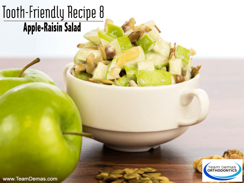 apple-raisin salad