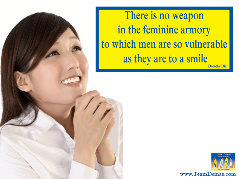 Smile Quote and Orthodontist