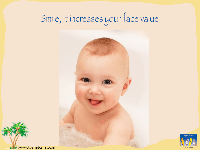 smile increases face value