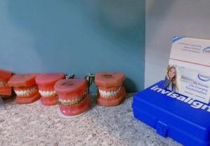 model teeth