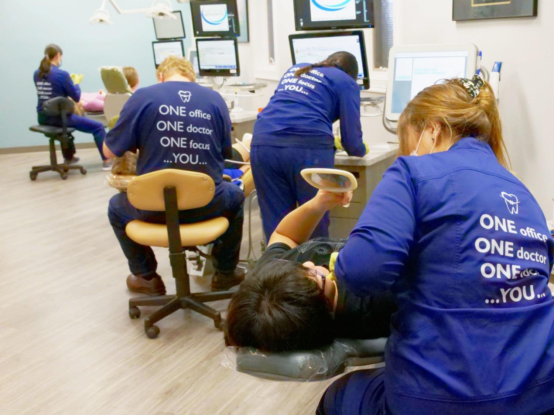 Team Demas hard at work