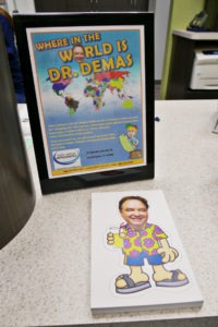 traveling Dr. Demas game